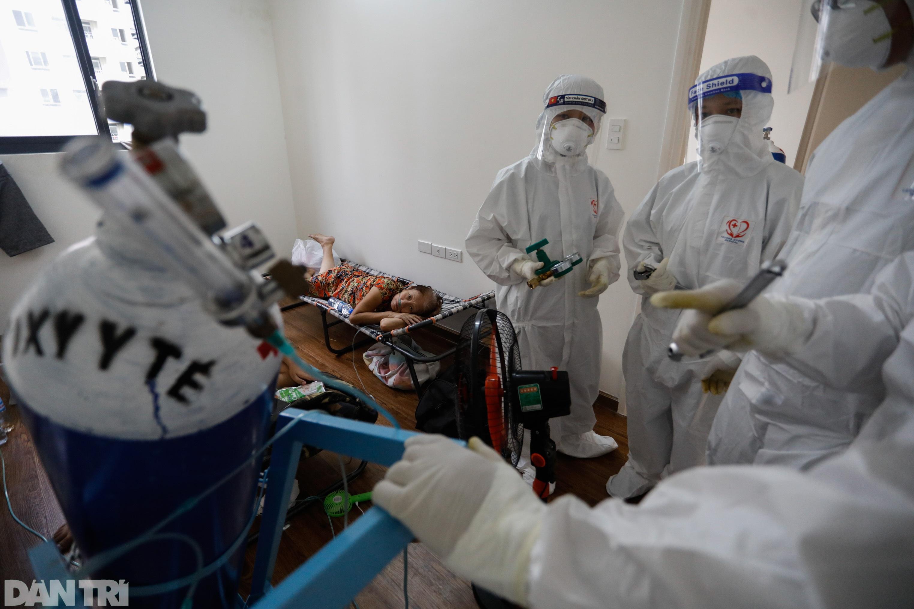 Bác sĩ sáng chế bình oxy đặc biệt giúp hàng trăm F0 vượt cửa tử - 8