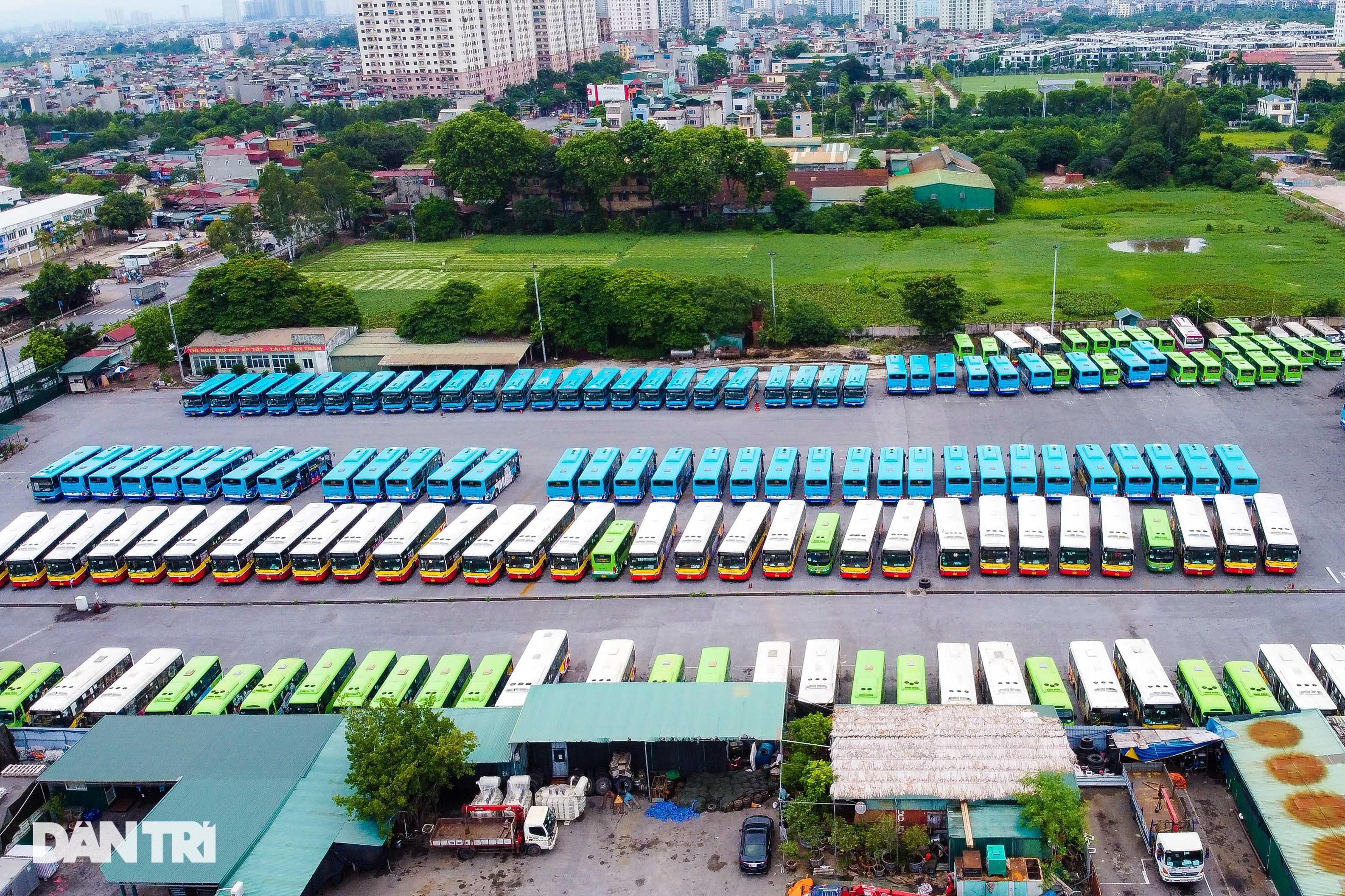 Hà Nội: Hàng nghìn ôtô nằm phơi nắng dầm mưa vì giãn cách xã hội - 8