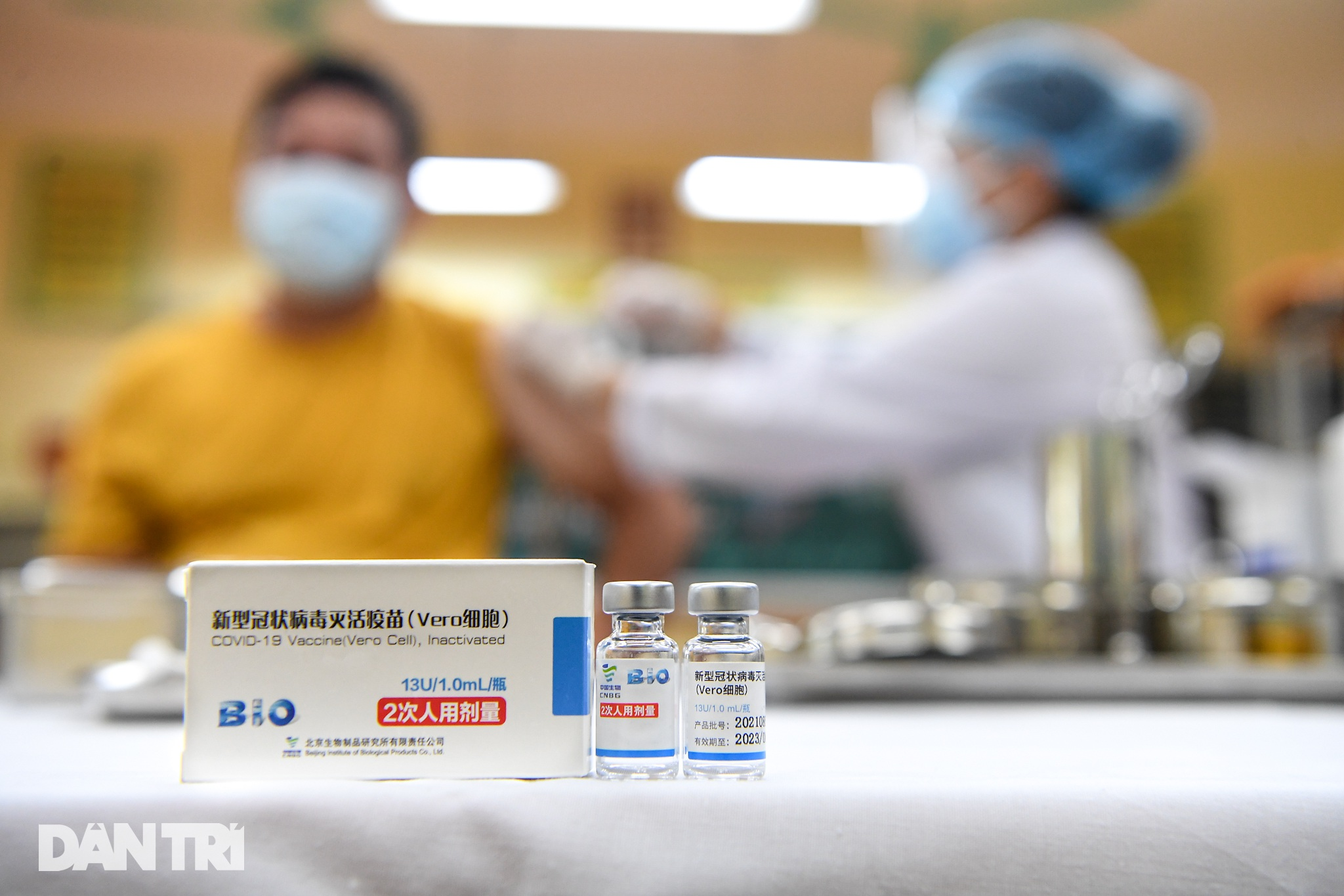 Ảnh: Toàn cảnh Chiến dịch truy vết và phủ vắc xin ngừa Covid-19 tại Hà Nội - 5