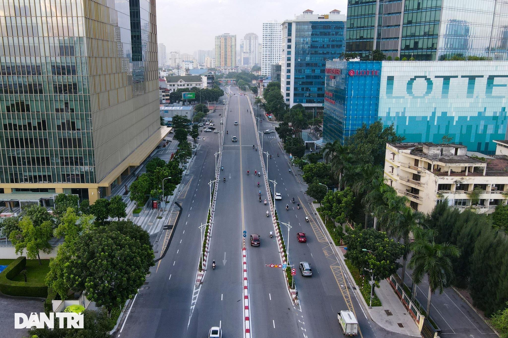 Giao thông vùng xanh ở Hà Nội nhộn nhịp trở lại sau quy định nới lỏng - 3