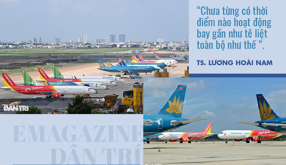 Hoạt động bay tê liệt và nội tình khó khăn không tưởng của hàng không Việt - 1