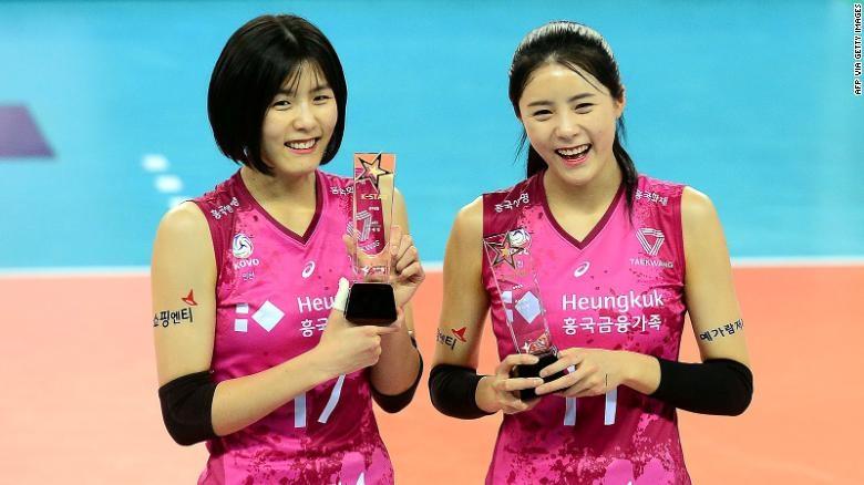 Hai chị em xinh đẹp bóng chuyền nữ Hàn Quốc được giải cứu ra sao? - 1