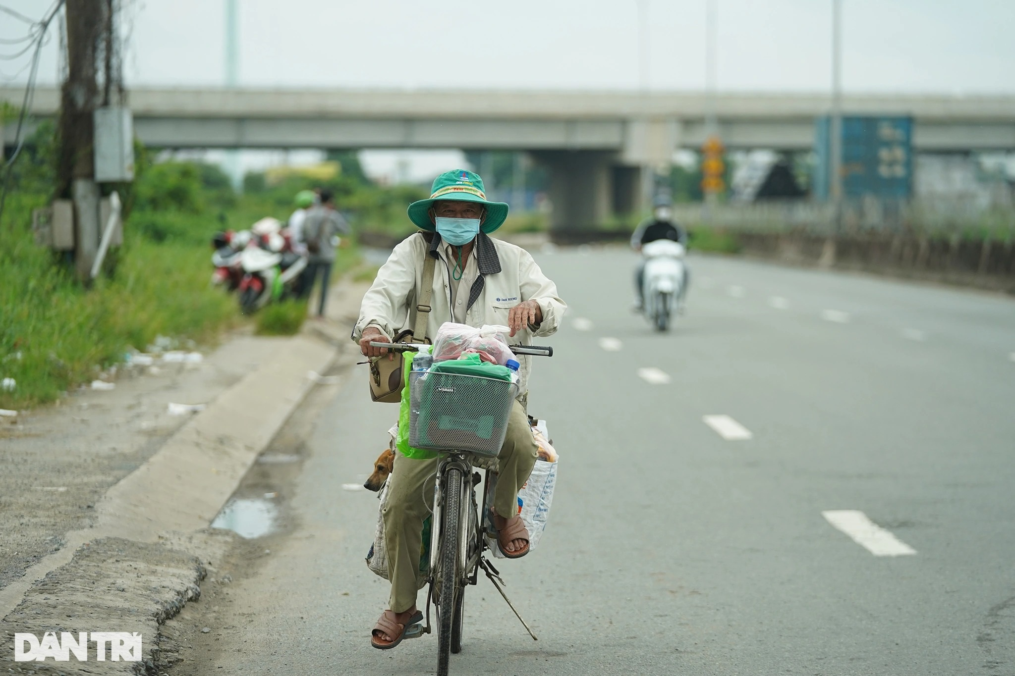Rưng rưng cảnh lão Hạc đạp xe chở cậu  Vàng từ TPHCM về quê Bến Tre - 11