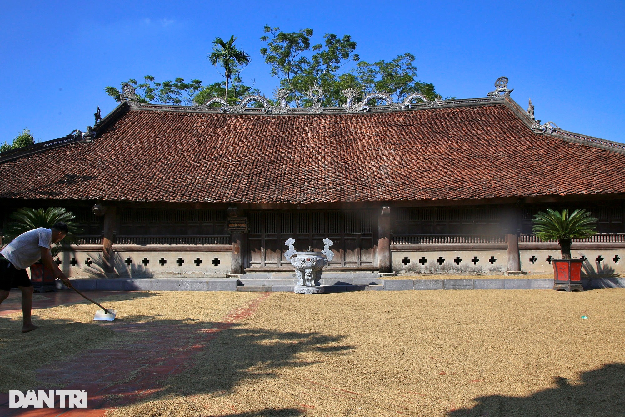 Vũ điệu rồng bên trong ngôi đình cổ ở Hà Nội - 15