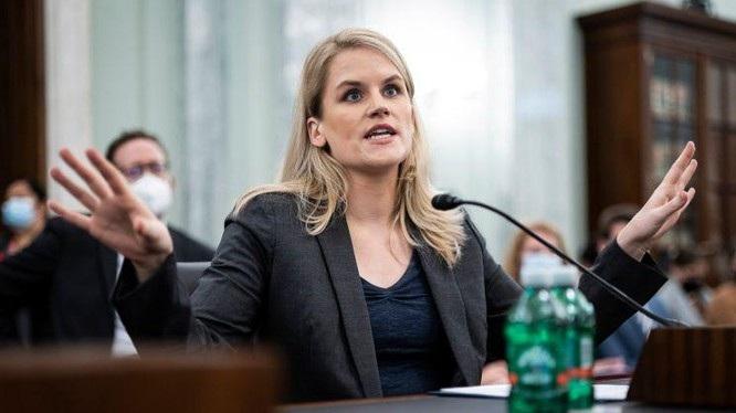 Frances Haugen xuất hiện trước một tiểu ban của Thượng viện Mỹ để