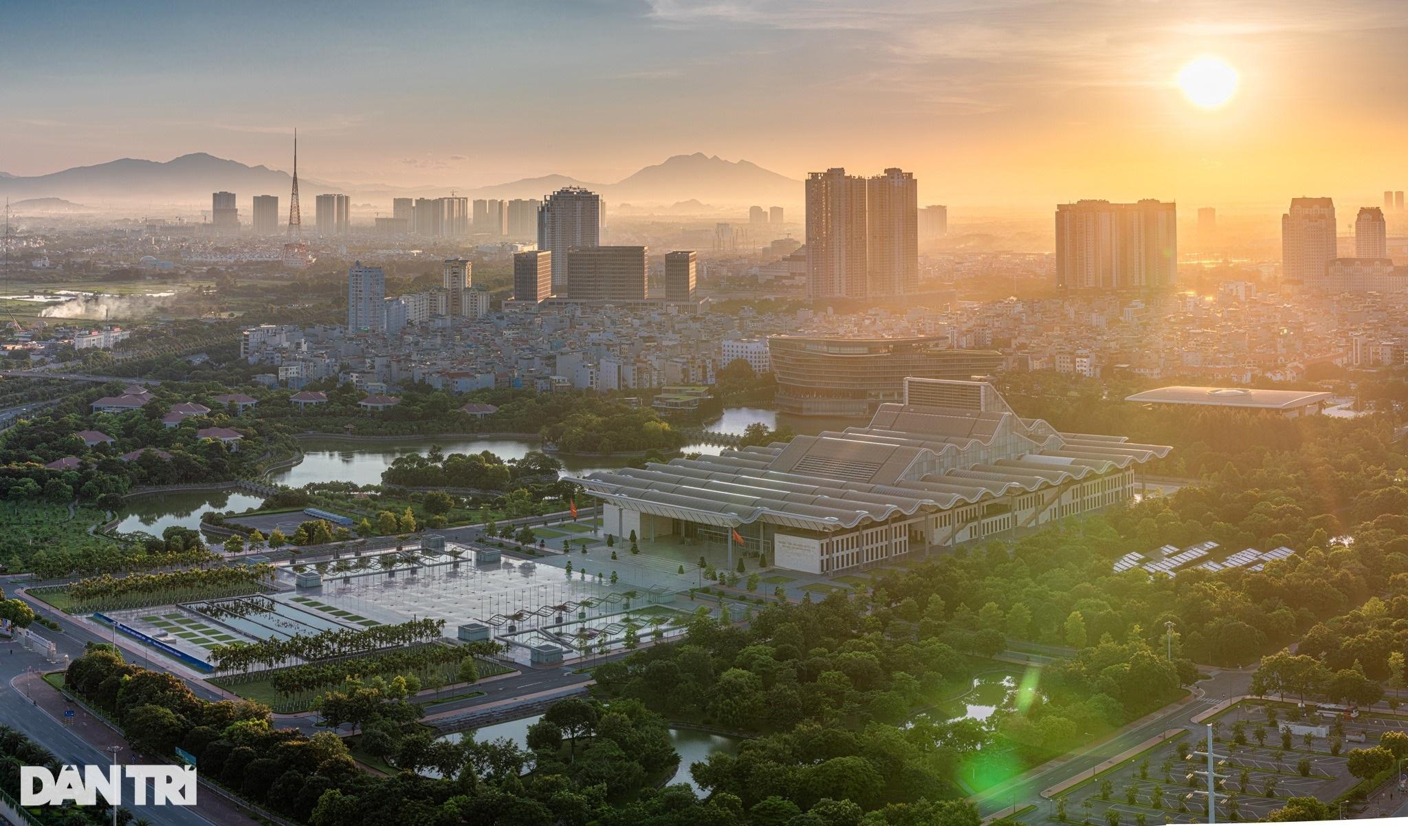 Ngắm những không gian xanh vút tầm mắt ở Hà Nội - 13