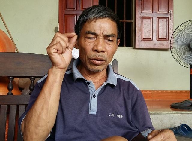 Ông Lê Thanh Hải trình bày về vụ việc của mình.