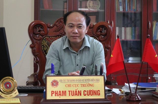 Ông Phạm Tuấn Cương - Chi cục trưởng Chi cục thi hành án dân sự huyện Diễn Châu đánh giá bản án của tòa vừa thiếu tính khả thi, vừa thiếu tính nhân văn.