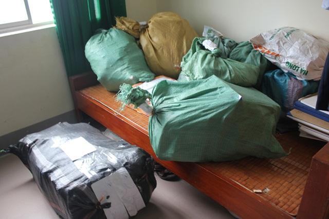 Số tài liệu, hóa đơn, chứng từ được Phòng cảnh sát điều tra tội phạm về kinh tế và chức vụ Công an Nghệ An thu giữ trong quá trình điều tra về hành vi trốn thuế của bà Hoàng Thị Oanh.