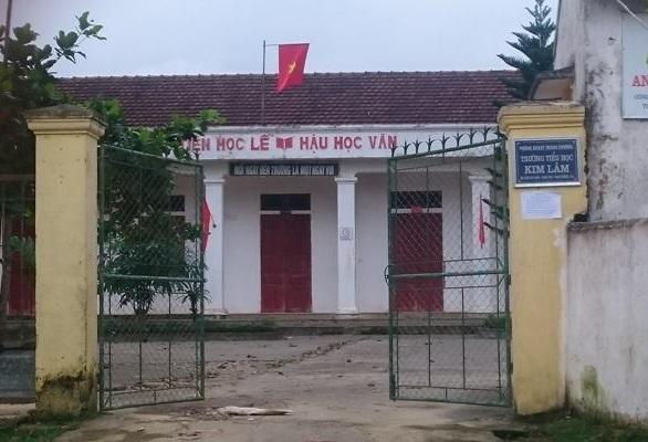 Trường Tiểu học Kim Lâm (Thanh Chương, Nghệ An).