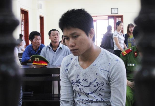 Xeo Văn Nhi tại phiên tòa.