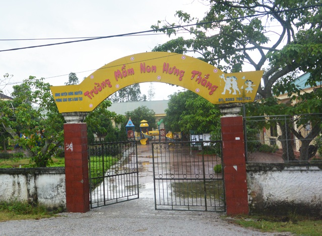 Trường Mầm non Hưng Thắng bị phụ huynh tố có nhiều khoản thu vô lý, kéo dài từ nhiều năm nay.