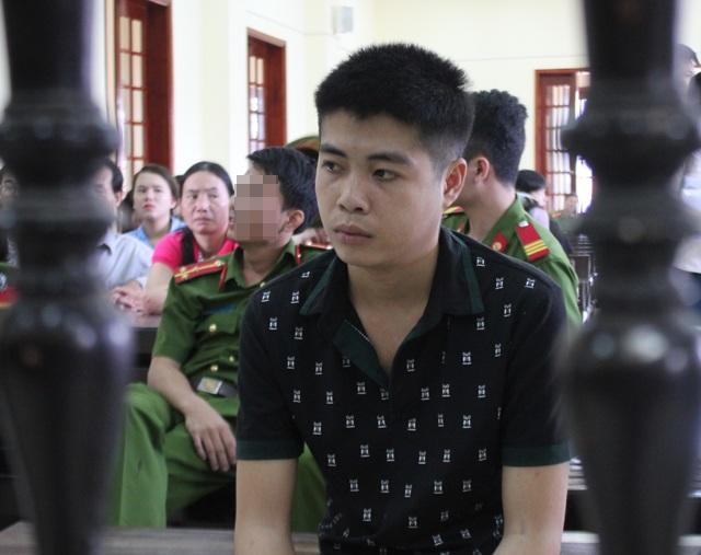 Vi Văn Thắng tại phiên tòa.