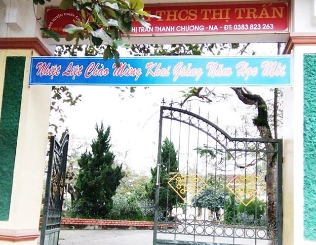 Trường THCS Thị trấn (huyện Thanh Chương, Nghệ An).