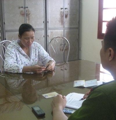 Đối tượng Phạm Thị Dư nhiều lần bị bắt giữ về việc buôn bán nội tạng bẩn.