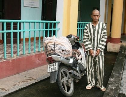 Đối tượng Tô Minh Tuấn bị bắt giữ.