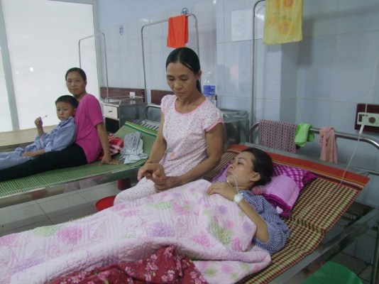 Bệnh nhân Tuyền bị rách ruột do vòng tránh thai đặt vào tử cung.
