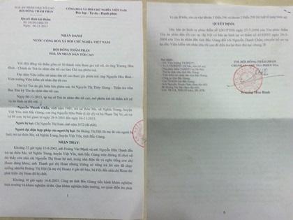 Quyết định Tái thẩm của TANDTC