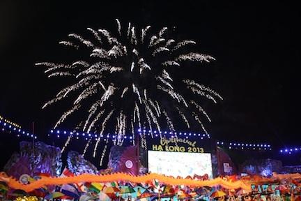 Lễ hội Carnaval Hạ Long 2014 sẽ tổ chức bắn pháo hoa tầm cao