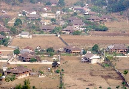 Thôn Khòn Miện, xã Đồng Bục nơi xảy ra vụ việc