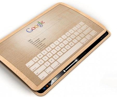 Thú vị máy tính bảng sạc pin bằng cảm ứng chạm - 1