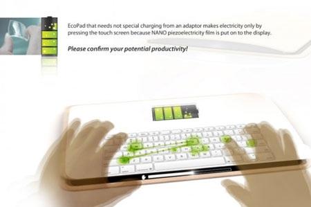 Thú vị máy tính bảng sạc pin bằng cảm ứng chạm - 2
