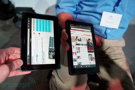 "Amazon Kindle Fire ""so dáng"" BlackBery PlayBook - 4"