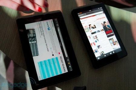"Amazon Kindle Fire ""so dáng"" BlackBery PlayBook - 6"
