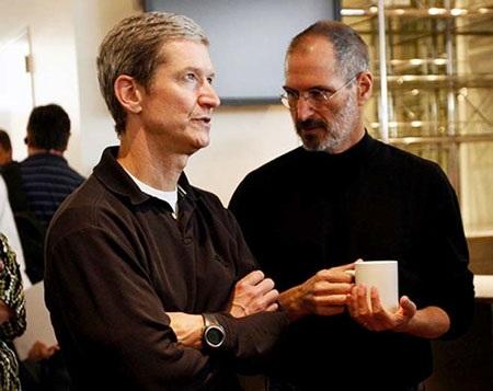"""CEO Tim Cook của Apple """"khởi động"""" bằng từ thiện - 1"""