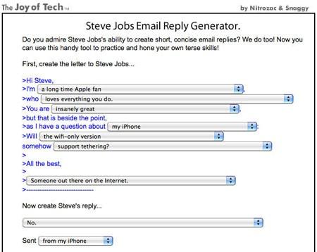 Steve Jobs hồi âm email khách hàng nhanh như thế nào? - 1