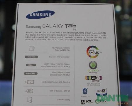 Đập hộp Galaxy Tab 7.7 chính hãng giá 15,5 triệu đồng - 2
