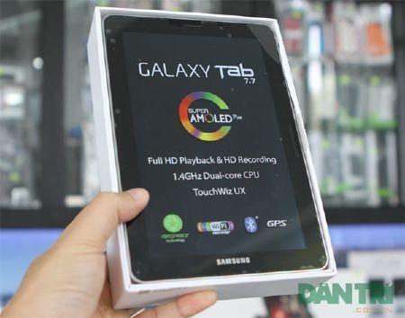 Đập hộp Galaxy Tab 7.7 chính hãng giá 15,5 triệu đồng - 3