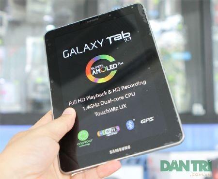Đập hộp Galaxy Tab 7.7 chính hãng giá 15,5 triệu đồng - 5