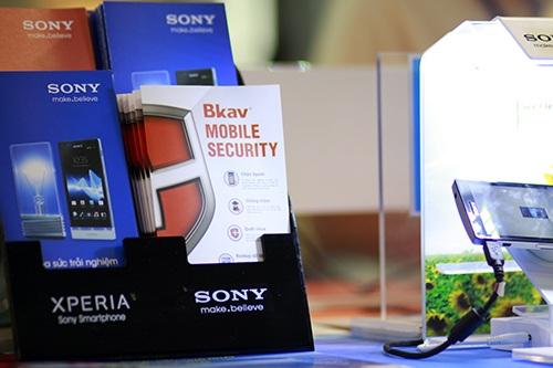 Sony tích hợp Bkav Mobile Security vào điện thoại Xperia