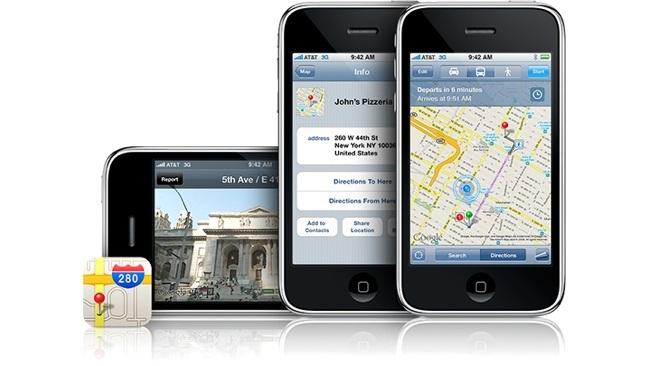 Ứng dụng Google Maps chưa được phê duyệt để tải lên App Store.