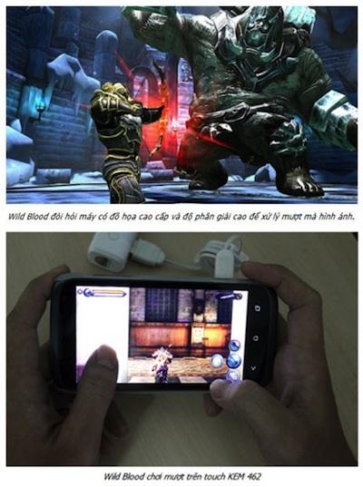 Touch KEM 462 - Chinh phục game thủ