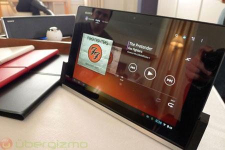 Xperia Tablet Z là máy tính bảng mỏng nhất thế giới hiện nay.