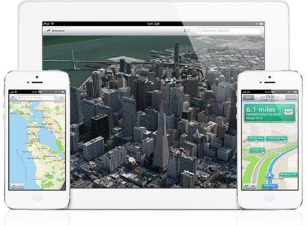 Apple quyết tâm cải tiến hệ thống bản đồ Maps trên iOS.