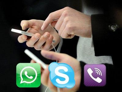 """Facebook và nhà mạng """"hốt hoảng"""" vì Viber, Line, Kakao Talk"""