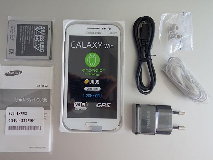 Galaxy Win là dòng smartphone cấu hình mạnh giá rẻ mới nhất của Samsung.