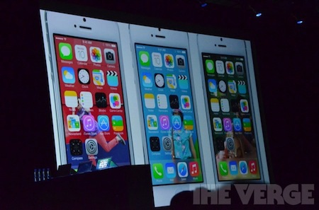 Giao diện iOS 7 đẹp, ấn tượng với thiết kế đơn giản nhưng màu sắc trẻ trung.