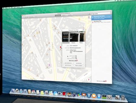 Bản đồ Apple Maps đã có mặt trên máy tính Mac.
