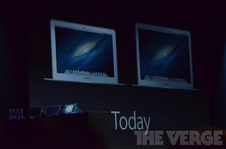 Hai phiên bản MacBook Air 11 inch và 13 inch sẽ có giá bán từ 999 -1299 USD.