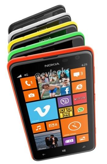 Lumia 625 sẽ được Nokia ra mắt trong ngày mai.