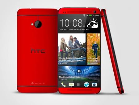 HTC One phiên bản màu đỏ đã được bán ra thị trường.