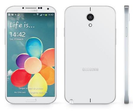 Một ý tưởng thiết kế của Galaxy Note III.