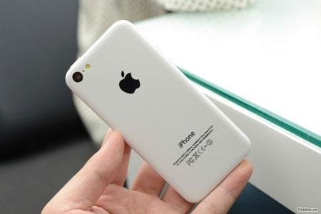 Hình ảnh iPhone 5C xuất hiện tại Việt Nam. (Ảnh: Tinhte)