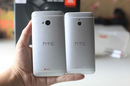 Máy cũng được trang bị công nghệ Beats Audio như HTC One.