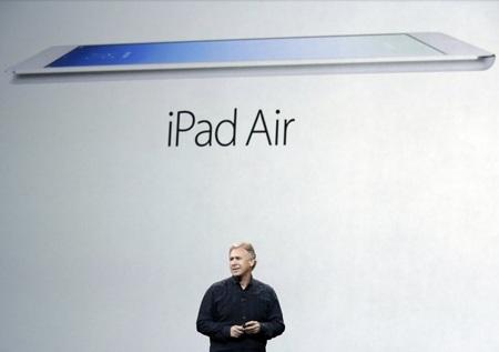 iPad Air đạt tốc độ xử lý nhanh hơn gần gấp đôi so với iPad 4.