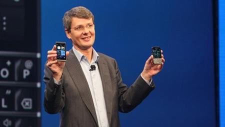 BlackBerry CEO Thorsten Hein.